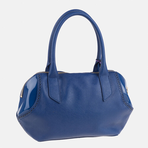 Modrá kabelka Armani Jeans - Glami.sk 964ef3a047b
