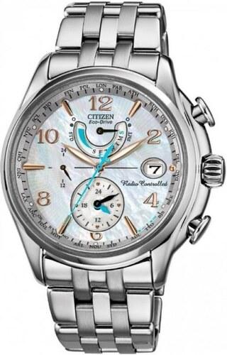 Dámské hodinky CITIZEN Eco-Drive Radiocontrolled Perpetual FC0000 ... b63372edee
