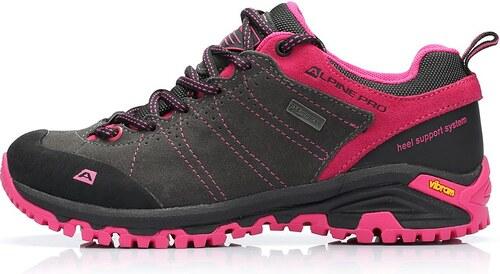 UNI obuv Alpine Pro TRIGLAV PTX LOW - černo-růžová - Glami.cz 53210d9517