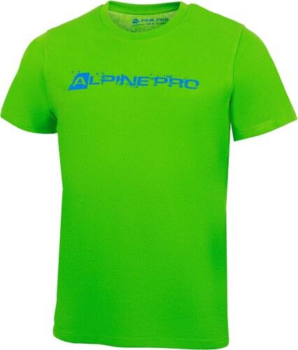 Pánské triko Alpine Pro ATALA 2 - zelená - Glami.cz 87fe7a5dcb2
