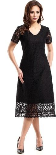 1fd4c2aebb1 Společenské šaty MOE275 černé - Glami.cz