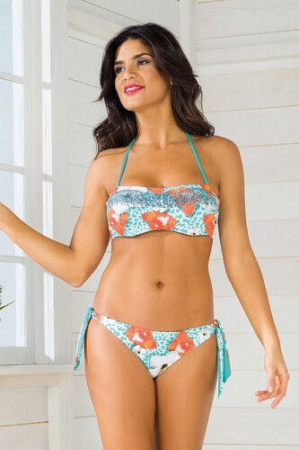 Dámské dvoudílné plavky Vacanze Luxury Garden II s kosticemi barevná ... d16dee3632
