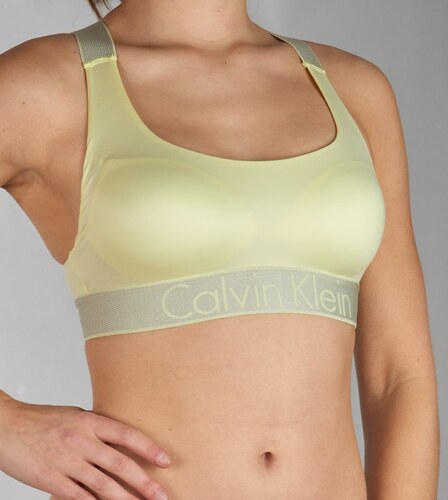 Calvin Klein sárga melltartó Bralette Lightly Lined - Glami.hu 93fdd7cbf8