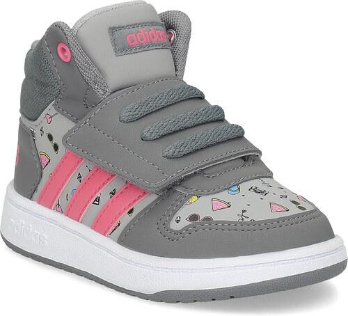 Adidas Šedé členkové tenisky s potlačou - Glami.sk 5a4890ea37b