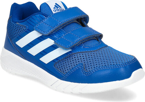 Adidas Modré detské tenisky na suchý zips - Glami.sk 171bd319b6a