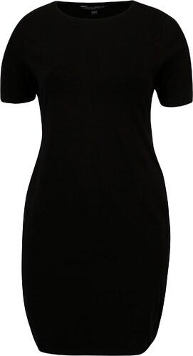 Černé pouzdrové šaty s krátkým rukávem Dorothy Perkins - Glami.cz 841ddb9df3