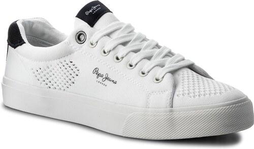 Teniszcipő PEPE JEANS - Nate Summer PMS30402 White 800 - Glami.hu 75d1ed80d2