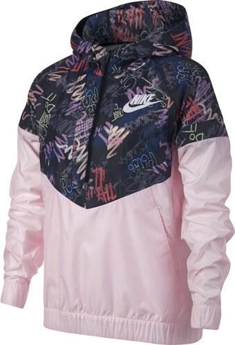 Nike G Nsw Windrunner Aop6 růžová - Glami.cz 528bfc94a89