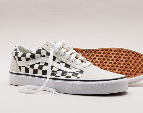 9a0b8085595 VANS Old Skool Checkerboard Black White - Glami.cz