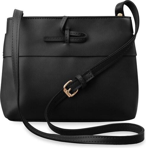 bed1ae14a034 World-Style.cz Malá klasická dámská kabelka listonoška - černá ...