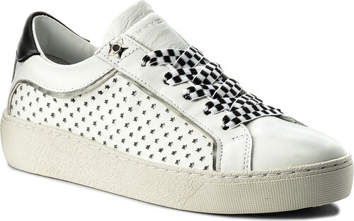 f21a9a5d4e291 Sneakersy TOMMY HILFIGER - Iconic Star Sneaker FW0FW02686 White 100 ...