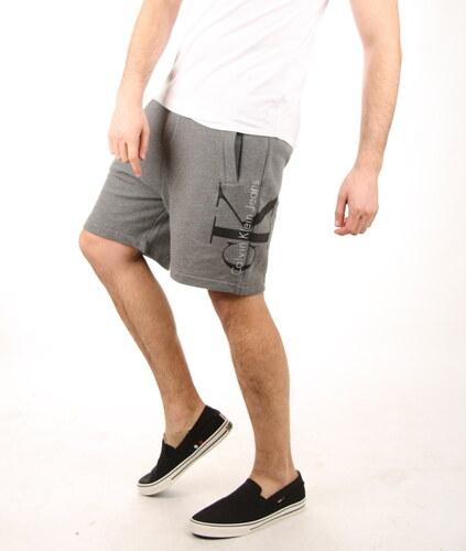 Calvin Klein pánské šedé teplákové šortky - Glami.cz a9bb1383b7