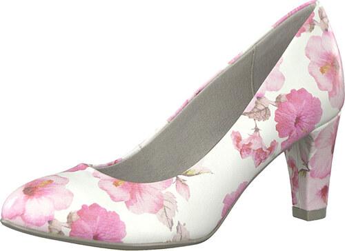 BE NATURAL by Jana Dámské lodičky 8-8-22440-20-504 Rose Flower ... 0df0aa4f5a