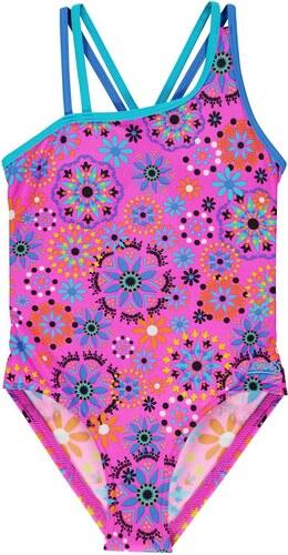 ff69498b13 Zoggs Folk Tale Crossback Swimsuit Junior Girls Pink/Multi - Glami.cz