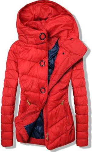 Trendovo Červená ľahká jarná prešívaná bunda - Glami.sk f4382470991