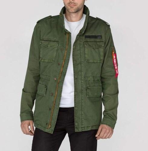 Pánska zelená bunda Alpha Industries Huntington Patch - Glami.sk 830a03c59d6