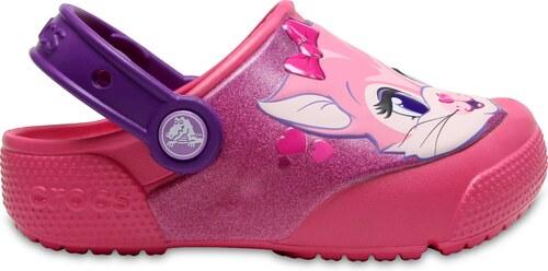 -35% Dětské pantofle Crocs Crocs Fun Lab Lights Clog K ed7ed63538