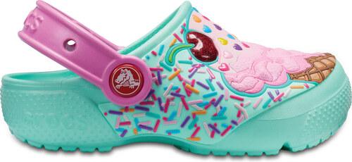 Dětské sandále Crocs Fun Lab Clog K Mint Party Pink C7 růžová ... e58be715a8