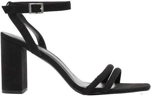 3e23aa8a971e NEW LOOK Semišové sandále na širšom podpätku - Glami.sk