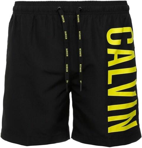 CALVIN KLEIN Pánské plavky CALVIN KLEIN Medium Drawstring 001 černé ... 192f34d143