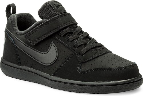 Cipő NIKE - Court Borough Low (PSV) 870025 001 Black Black - Glami.hu 05404bf2a5