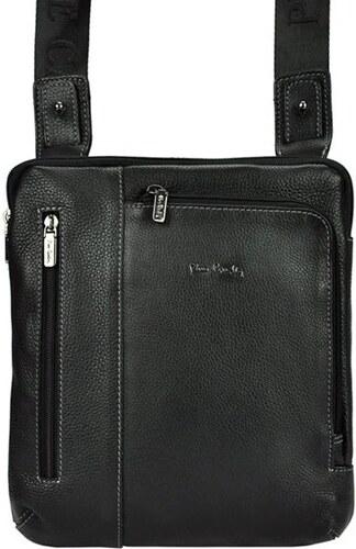 1581020d59 Značková kožená taška přes rameno Pierre Cardin (GT3) - Glami.cz