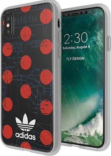 Adidas Clear Case silikonové pouzdro pro Apple iPhone X - Glami.cz 08eace9fd38