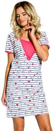 Taro Kojící noční košile Linda červená - Glami.cz ab391e4f7e