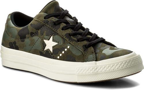 Tenisky CONVERSE - One Star Ox 159703C Herbal Light Gold Egret ... fa933d27713