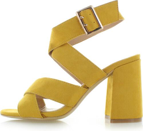 b9d50d845ab4 Ideal Žlté sandále Noor - Glami.sk
