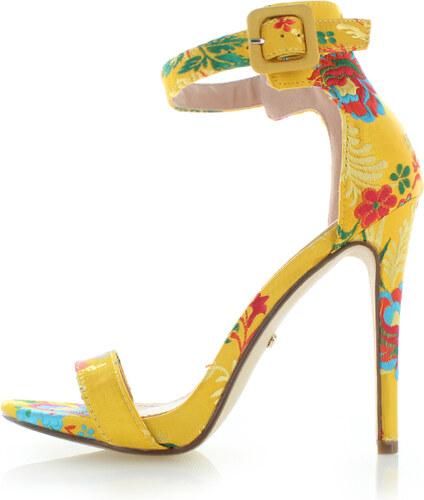 67caf4f32ac7 Ideal Žlté sandále Anete - Glami.sk
