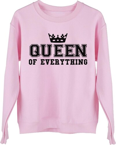 ForQueen Mikina Queen of Everything Crown Pink - Glami.cz d9ec35f69a