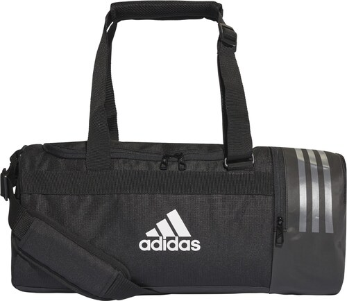 9be19bbebb Taška adidas Performance CVRT 3S DUF S BLACK WHITE WHITE - Glami.sk