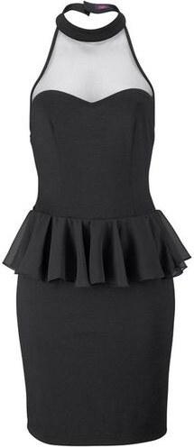 05351ebc9d1f Malé čierne peplum šaty BUFFALO - Glami.sk