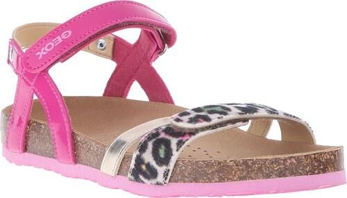 672fbb81b330 Geox Dievčenské remienkové sandále Aloha - modro-ružové - Glami.sk