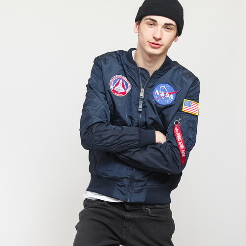 be9588719 Alpha Industries MA-1 TT NASA Reversible II navy - Glami.cz