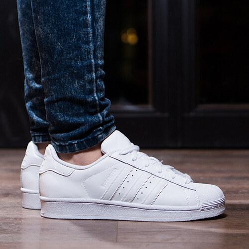 eccc1eadcad0 Dámske tenisky Adidas Superstar Junior White White - Glami.sk