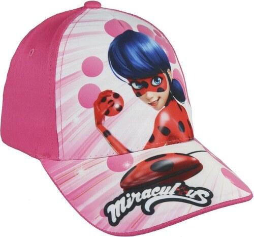 0e10ee9bb61b Disney Brand Dievčenská šiltovka Ladybug - ružová - Glami.sk