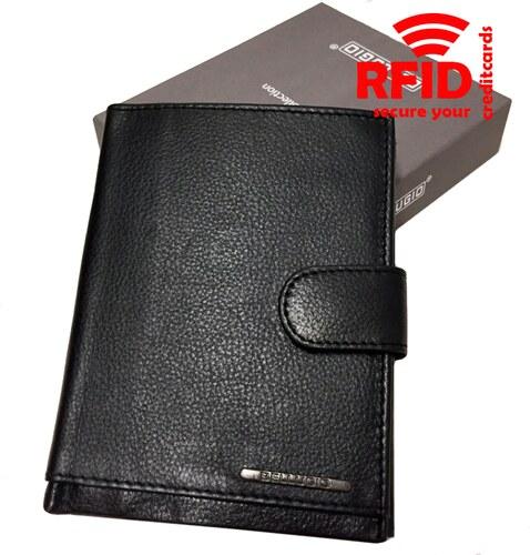 310916fe120 Kožená peněženka Bellugio AM-70R-073 Black RFID - Glami.cz