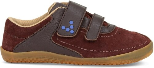 Vivobarefoot RENO K Leather Brown - Glami.cz 594aac1208a