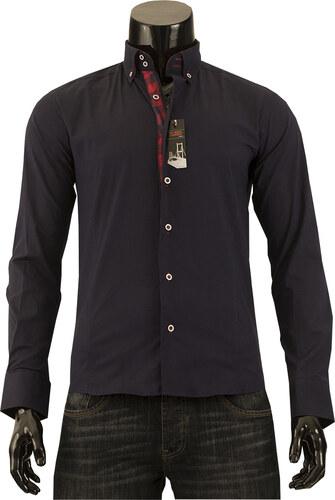 Pánská košile s dlouhým rukávem Tim Rody - tmavě modrá