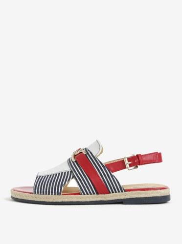 Červeno-modré dámské sandály Geox Mary Kolleen - Glami.cz 96f4c6ca02