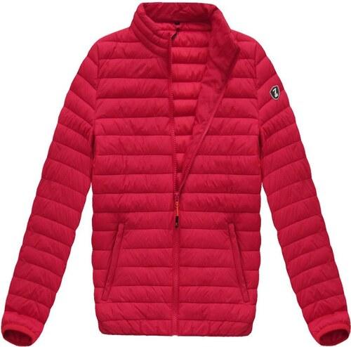 Pánska prechodná bunda červená 1257 - Glami.sk 73fbf453fab