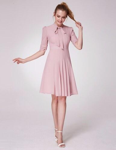 Ever Pretty Krátké elegantní šaty s rukávy 5966 - Glami.cz eca1593b236