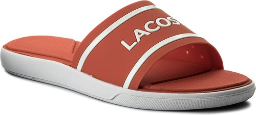 Papucs LACOSTE - L.30 Slide 118 1 Caw 7-35CAW0020F50 Pink White ... accebb4c81