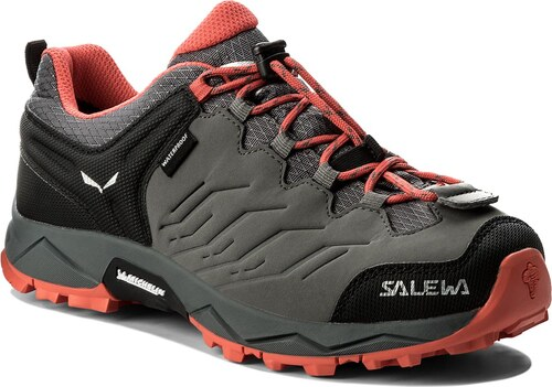 Trekingová obuv SALEWA - Mtn Trainer Wp 64008-0533 Quiet Shade Hot Coral 53a08e0f9a