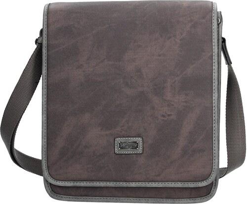 Panská taška na doklady Lee Cooper Noah - hnědá - Glami.cz 482520f776