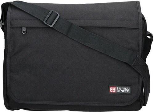 f946a7b07f Pánská taška přes rameno Enrico Benetti Rudolf - černá - Glami.cz