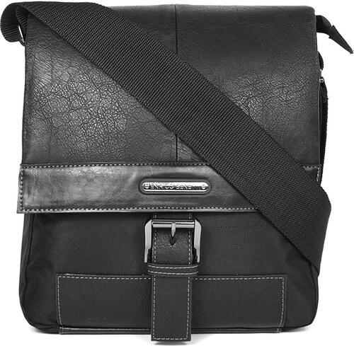 094eb93a61 Pánská taška přes rameno Enrico Benetti Carter - černá - Glami.cz