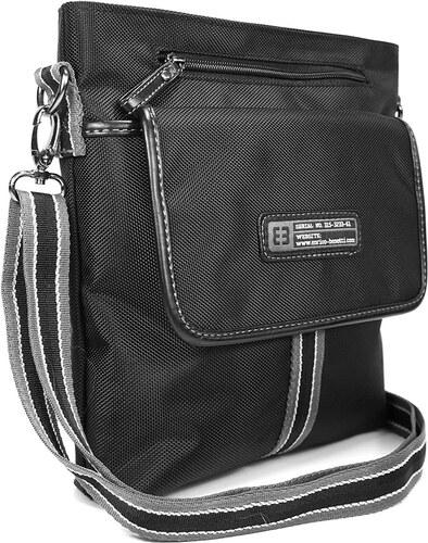 4878fd2530 Pánská taška přes ramno Enrico Benetti Blaize - černá - Glami.cz